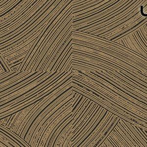 ARADO Carta da Parati In Stile Geometrico a Graffiature