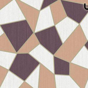 BLAST Carta da Parati in Stile Geometrico